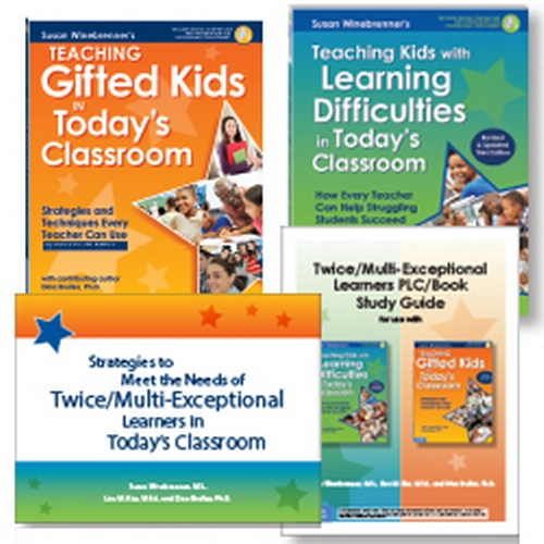 Twice Exceptional Kids Both Gifted And >> Buy The Set Teaching Twice Multi Exceptional 2e Students In