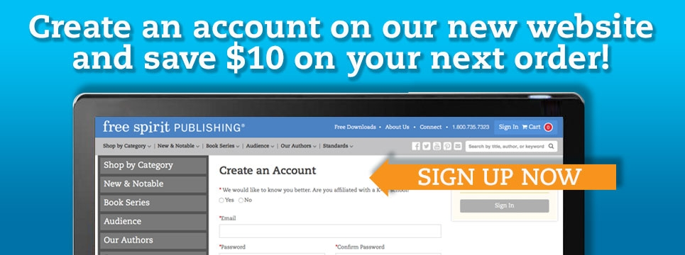 Create an account and save $10!