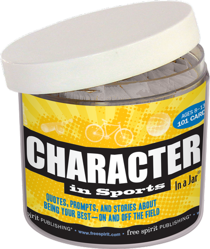 Character in Sports In a Jar: Quotes, Prompts, and Stories