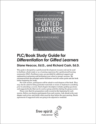 Differentiation for Gifted Learners PLC/Book Study