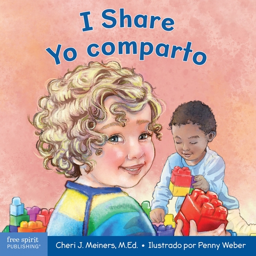 Children find they have plenty to share in this English-Spanish bilingual board book.