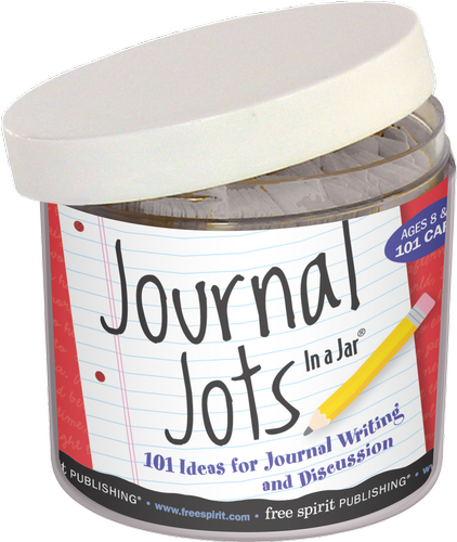 Journal Jots In A Jar 101 Ideas For Journal Writing And Discussion 9781575429519 Games Free Spirit Publishing