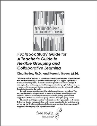 A Teacher's Guide to Flexible Grouping and Collaborative Learning PLC/Book Study Guide