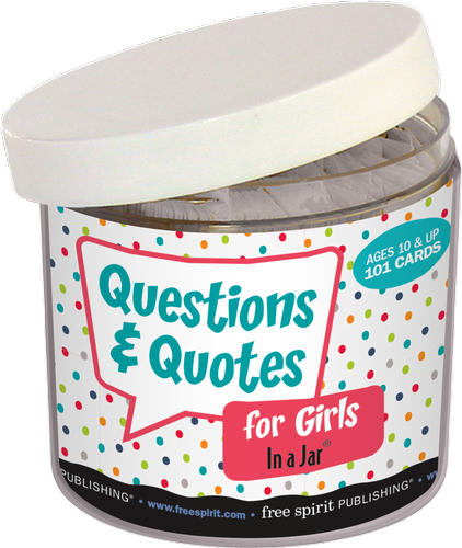 Questions Quotes For Girls In A Jar 9781575424880 Games Free