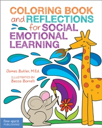 Coloring Book and Reflections for Social Emotional Learning – 36 calming activities for kids