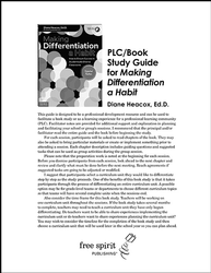 Making Differentiation a Habit PLC/Book Study Guid