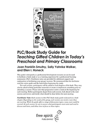 Teaching Gifted Children PLC Cover