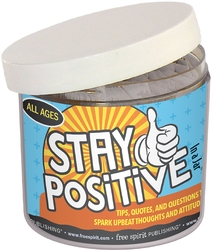 Stay Positive Jar